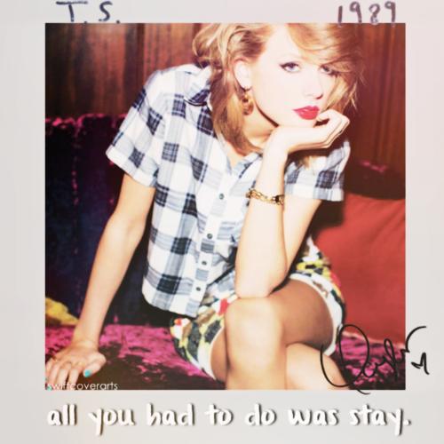 ترجمه متن و دانلود آهنگ All You Had to Do was Stay از Taylor Swift