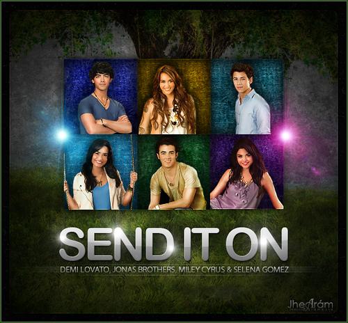 دانلود و ترجمه متن آهنگ send it on از Selena Gomez