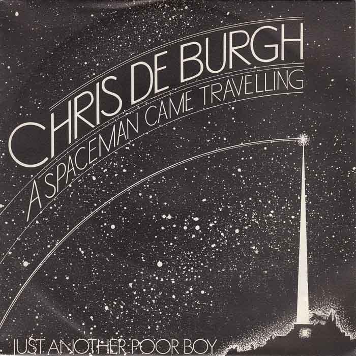 دانلود و ترجمه فارسی متن آهنگ A spaceman came travelling از Chris De Burgh