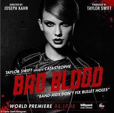 دانلود و ترجمه متن آهنگ Bad Blood از Taylor Swift