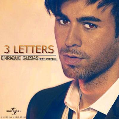 ترجمه متن و دانلود آهنگ 3 Letters از Enrique Iglesias