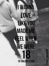 ترجمه متن و دانلود آهنگ 18 eighteen از One Direction