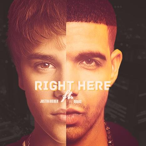ترجمه متن و دانلود آهنگ Right Here از Justin Bieber