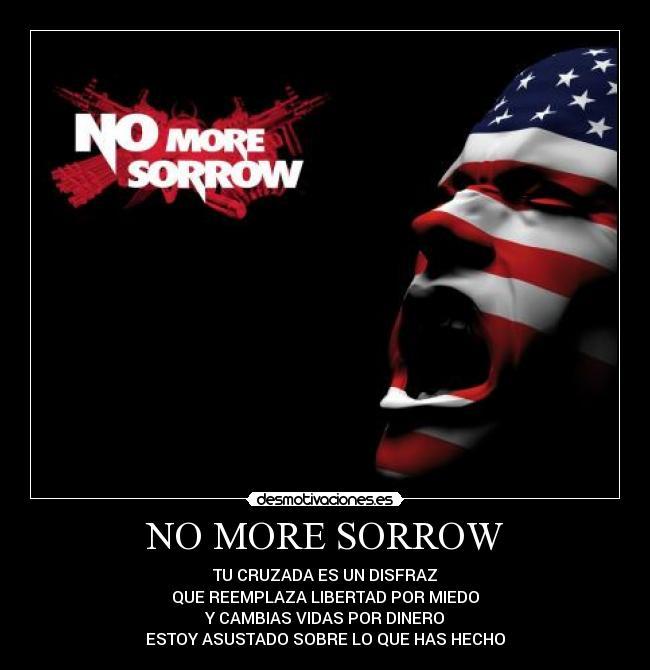 ترجمه متن و دانلود آهنگ No More Sorrow از Linkin Park