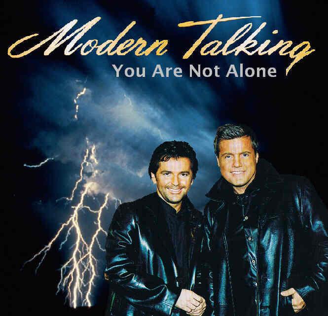 ترجمه متن و دانلود آهنگ You Are Not Alone از Modern Talking