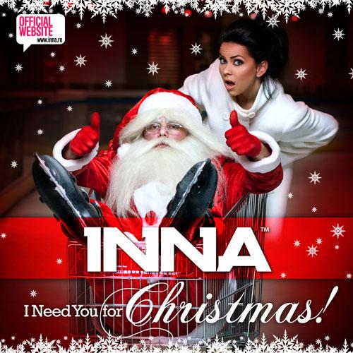 ترجمه متن و دانلود آهنگ I Need You For Christmas از Inna