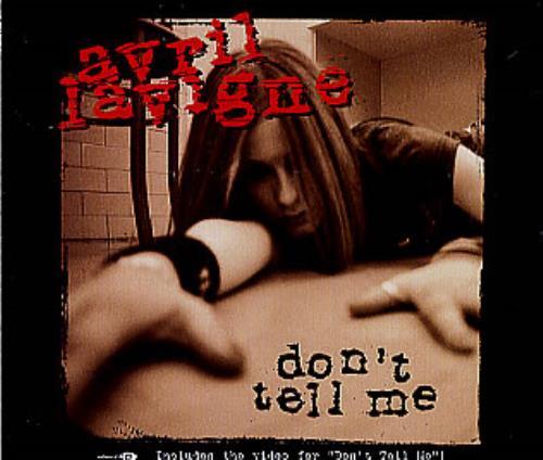 ترجمه متن و دانلود آهنگ Dont Tell Me از Avril Lavigne
