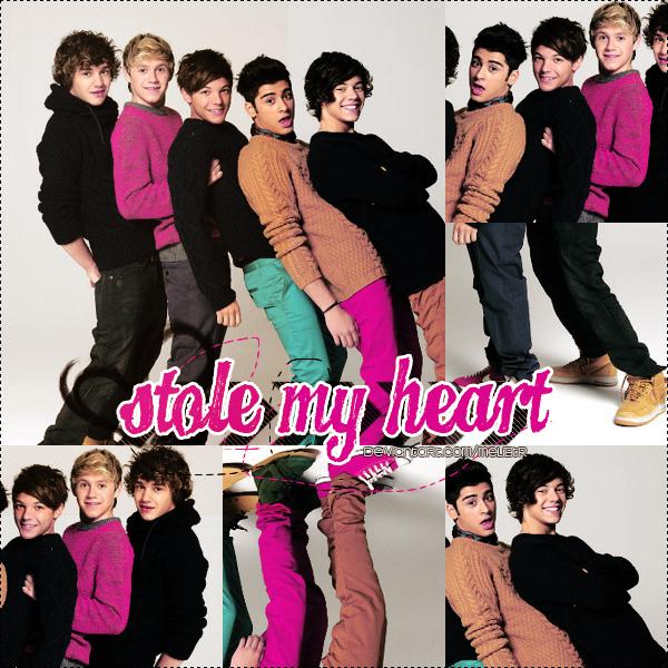 ترجمه متن و دانلود آهنگ Stole My Heart از One Direction