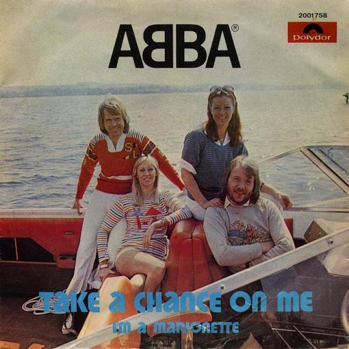 ترجمه متن و دانلود آهنگ Take a chance on me از Abba