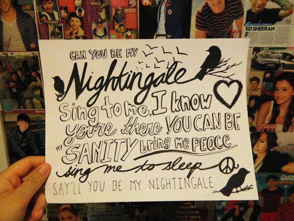 ترجمه متن و دانلود آهنگ Nightingale از Demi Lovato