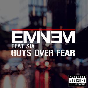 دانلود آهنگ Guts Over Fear از Eminem با ترجمه متن آهنگ فارسی