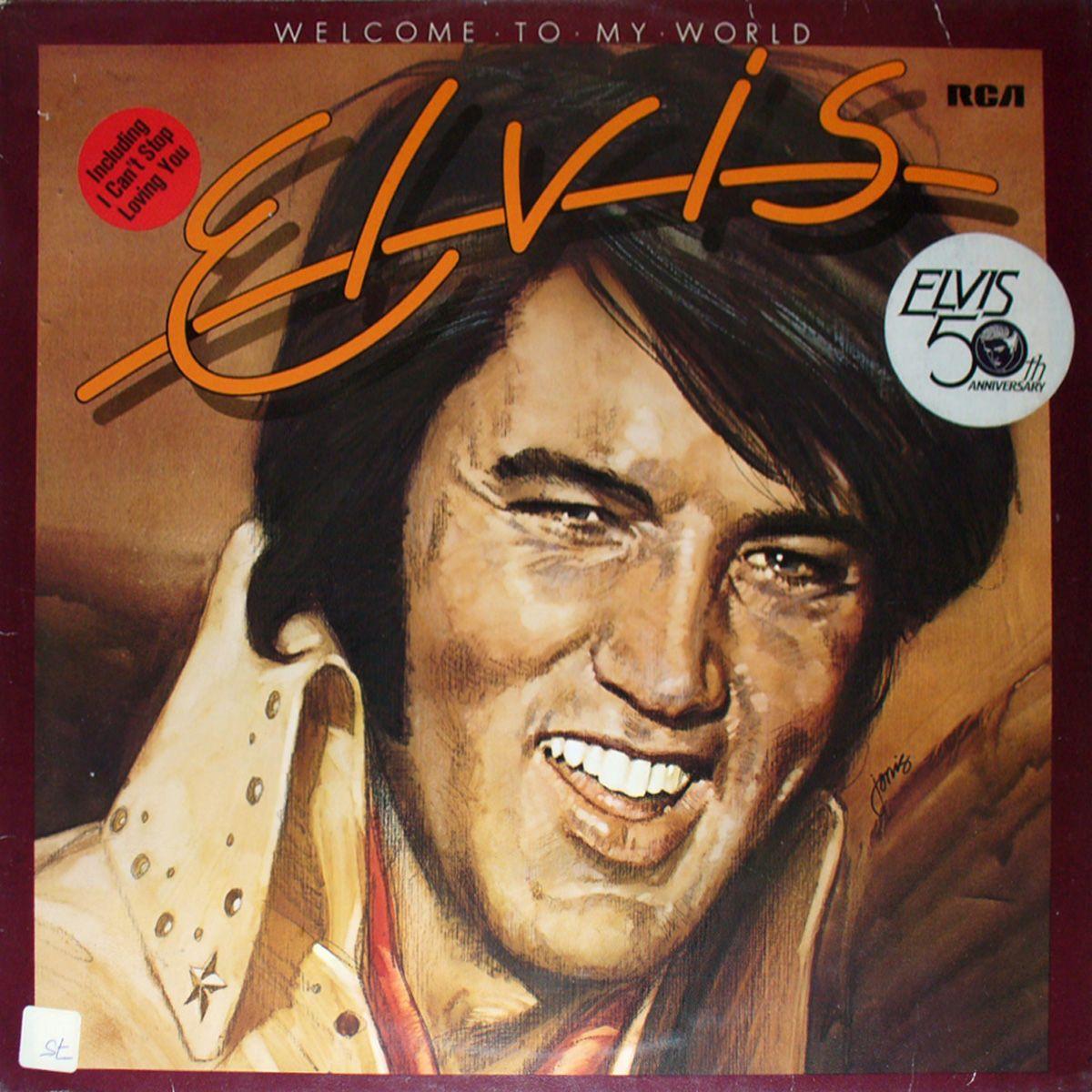 دانلود آهنگ Welcome To My World از Elvis Presley با ترجمه متن آهنگ فارسی