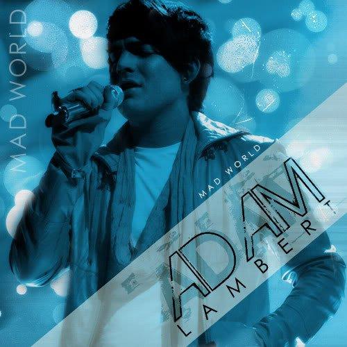 دانلود آهنگ Mad World از Adam Lambert با ترجمه متن آهنگ فارسی