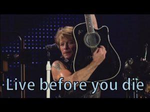 دانلود آهنگ Live Before You Die از Bon Jovi با ترجمه متن آهنگ فارسی