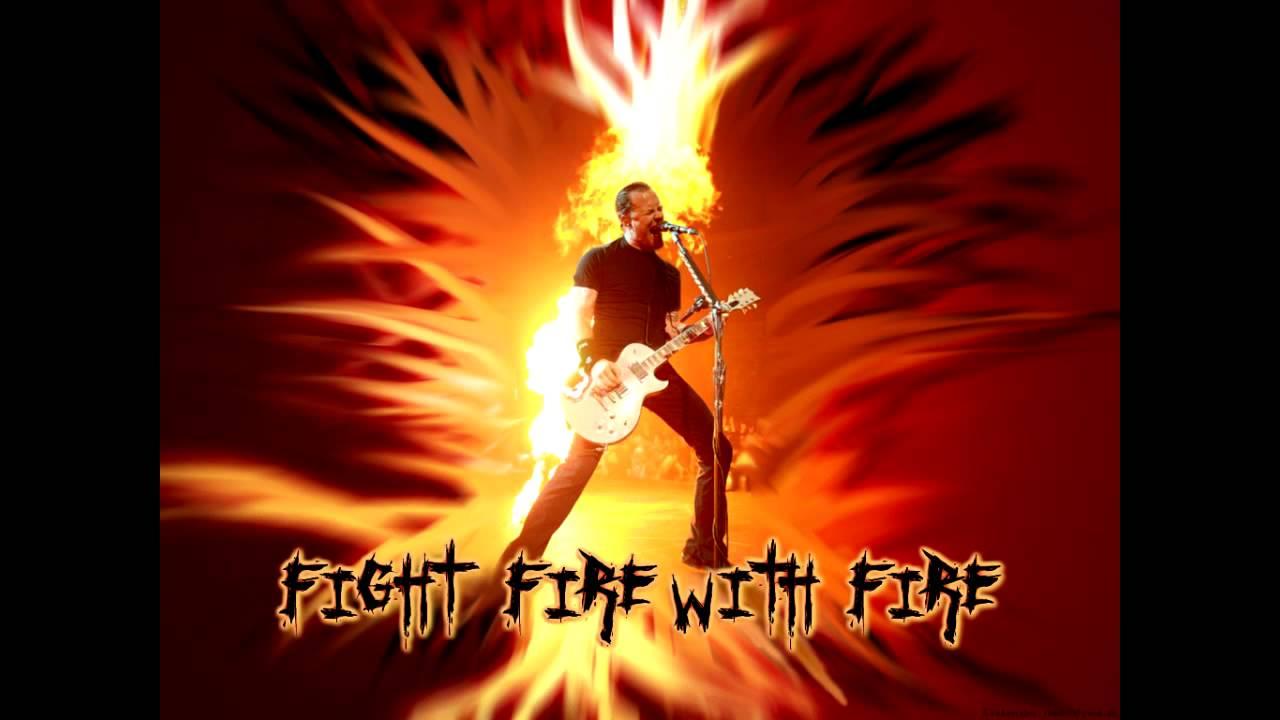 دانلود آهنگ Fight Fire With Fire از Metallica با ترجمه متن آهنگ فارسی