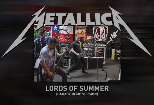 دانلود آهنگ Lords of Summer از Metallica با ترجمه متن آهنگ فارسی