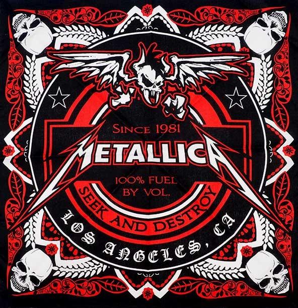 دانلود آهنگ Seek & Destroy از Metallica با ترجمه متن آهنگ فارسی